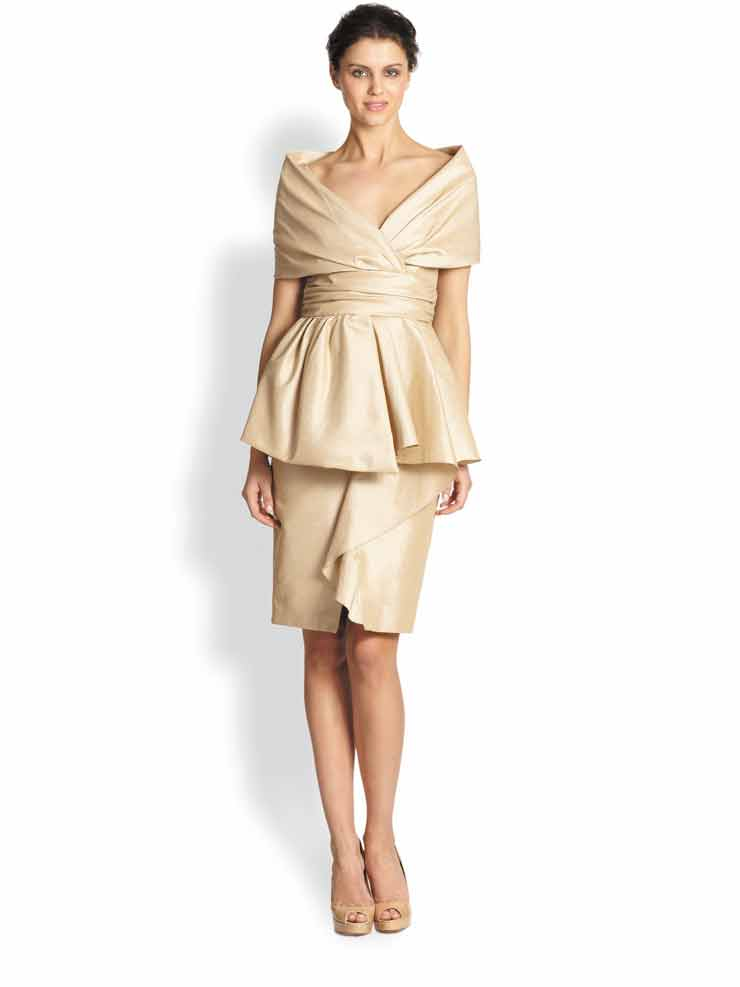 What to wear where winter weddings town style for Saks fifth avenue wedding guest dresses