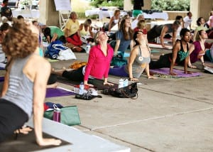 Rise 'n Shine, Yoga for SLOCA @ World's Fair Pavilion in Forest Park | St. Louis | Missouri | United States
