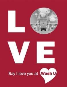 Say I Love You at Wash U @ Ibby's restaurant | Saint Louis | Missouri | United States