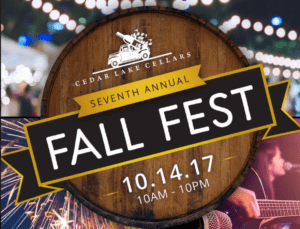 Cedar Lakes 7th Annual Fall Fest @ Cedar Lake Cellars | Wright City | Missouri | United States