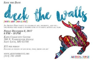 Deck the Halls (with art and love) @ Kappa Community Center | St. Louis | Missouri | United States